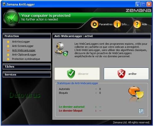Zemana AntiLogger - Licence 1 an gratuit