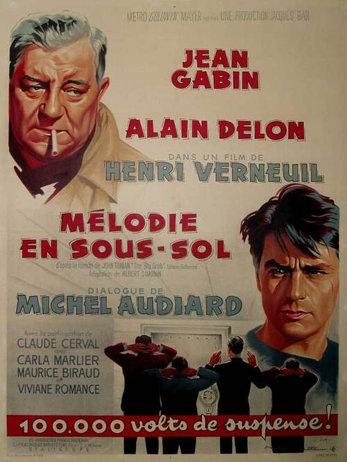 MELODIE EN SOUS SOL - BOX OFFICE ALAIN DELON 1963 PART I