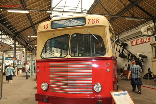 musée du transports en commun de liège