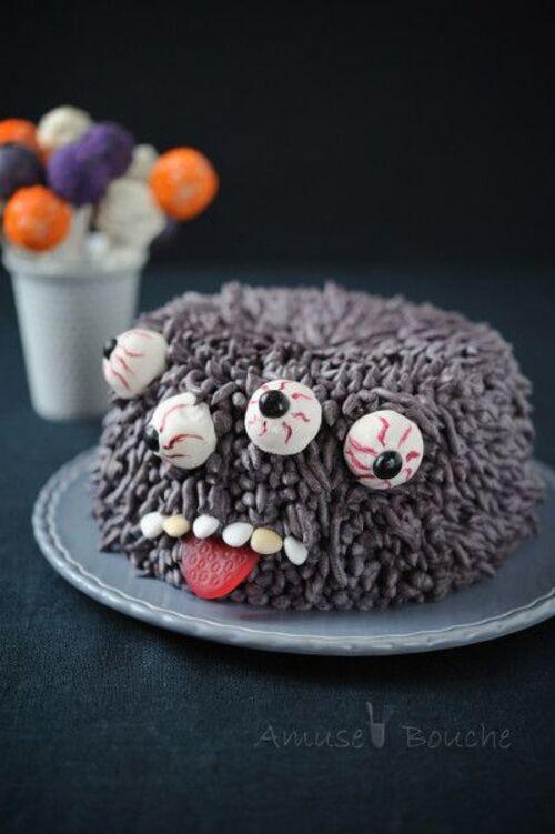 De beaux gâteaux monstres rigolos : idées