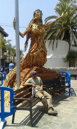 Arte efímero, festival Mueca Puerto de la Cruz.