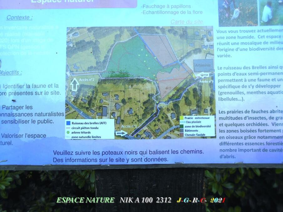 ESPACE NATURE:  D  26-06-2021    3/6  chemin du ru des Brelles LA GACILLY