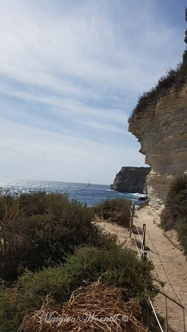 Corse : Bonifacio, Escalier d'Aragon 1/2
