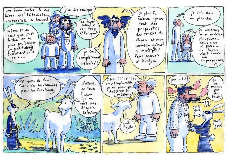 Bouquinou et le Savant fou