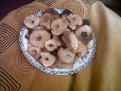 Chips de pomme érable/cannelle
