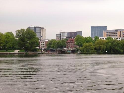 Hambourg: promenade sur le lac de l'Alster (photos)