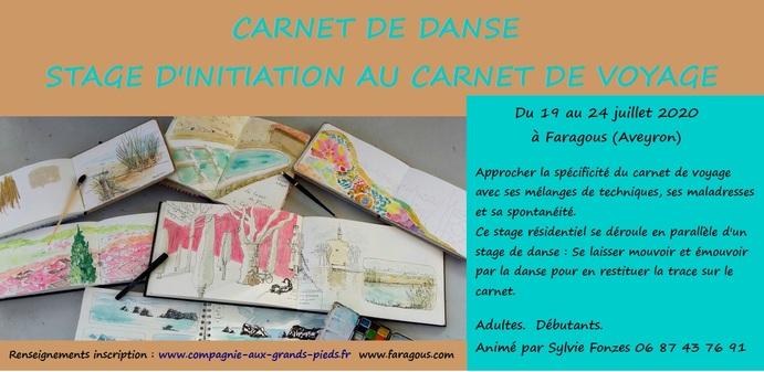 • Carnet de danse juillet 2020