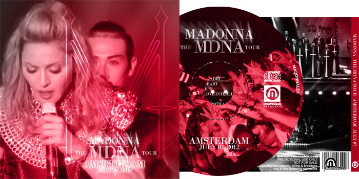 The MDNA Tour - Full Audio Amsterdam - July 07