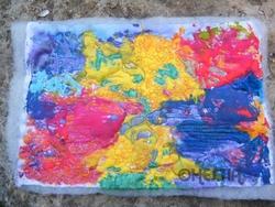 piqué libre et coloration