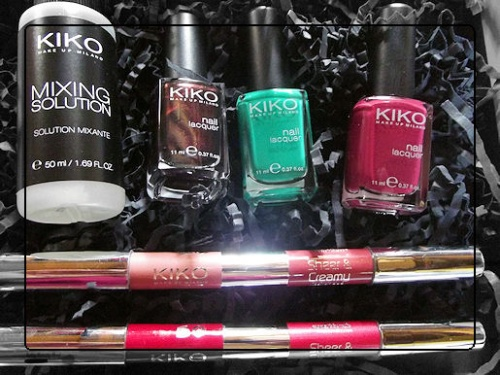 HAUL Kiko + octobre rose