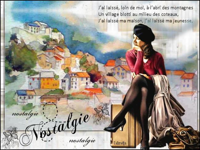 """Nostalgie"" Isabelle Callis-Sabot"