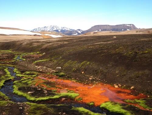 L'Hekla depuis le Ljosartungur