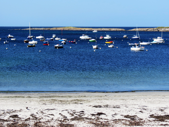 Escapade iodée à l'Île de Groix (Morbihan) - De Locmaria à la Pointe des Chats