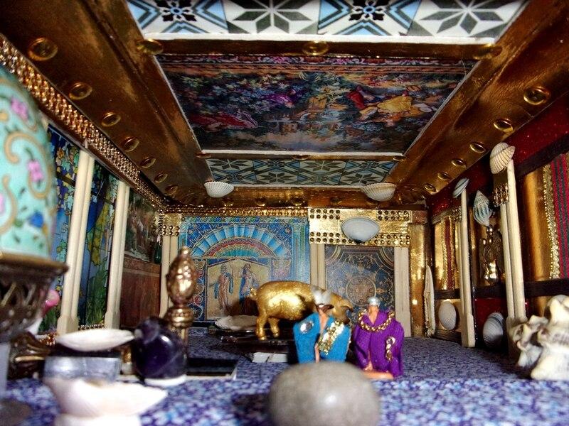 Aujourd'hui : nouveaux aménagements dans le palais impérial d'Orchide (1ère partie)