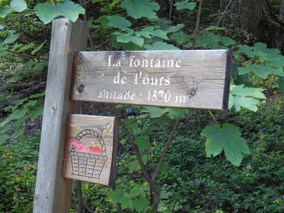 Fontaine de l'Ours