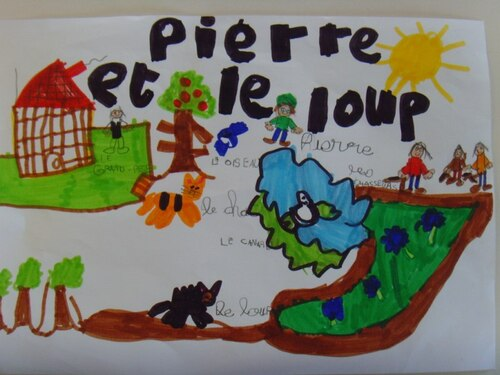 Pierre et le loup- illustrations