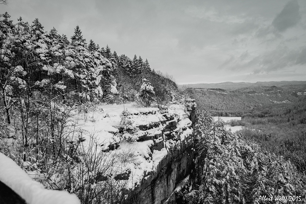 Le rocher de Gargantua
