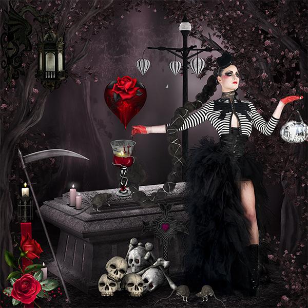 Gothic night de Desclics
