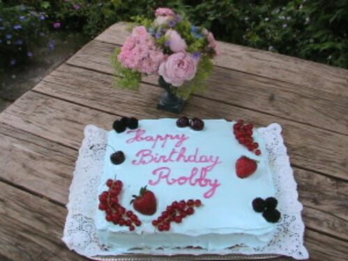 Juillet : anniversaire de Robby