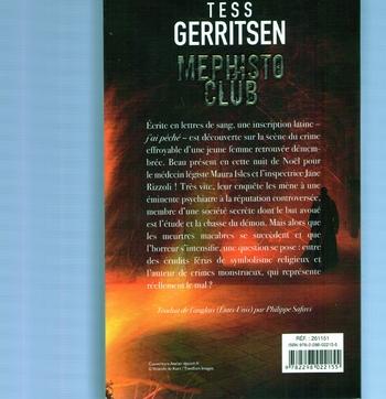 Tess Gerritsen - mephisto club (2)