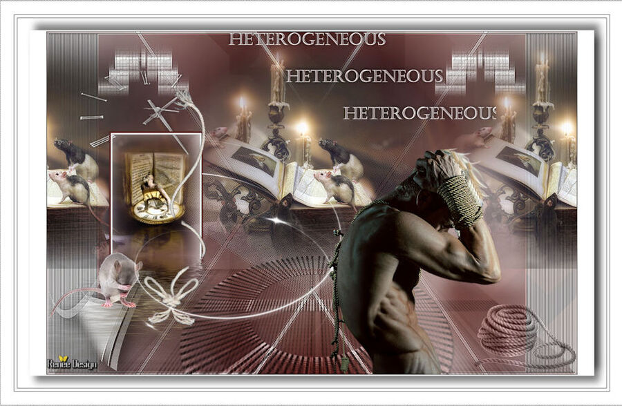 Hétérogène