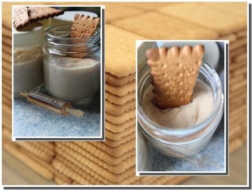 Crèmes express aux petits beurre