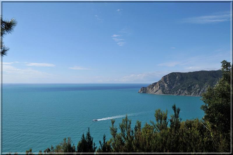 Italie, les 5 Terres : sur le sentier côtier N°2, la pointe Mesco