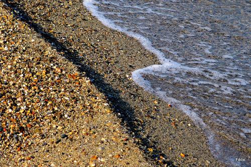 Pêcheurs en bord de plage