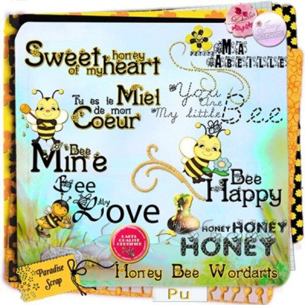 Honey Bee une collaboration de JosyCréations et de Desclics