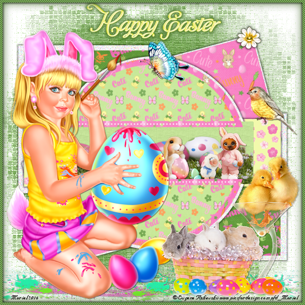 "Tutoriel ""Happy Easter"""