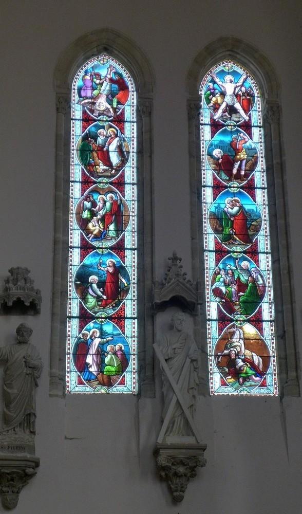 L'église Saint-Louis de Castets-en-Dorthe...