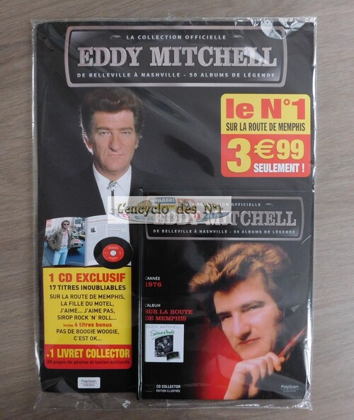N° 1 La collection officielle Eddy Mitchell - Lancement