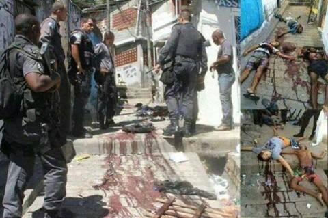 massacre favela