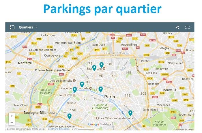 parking Saint-Germain des Prés