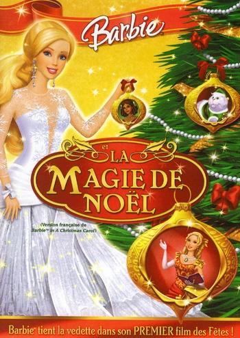 Affiche de Barbie et La Magie de Noël