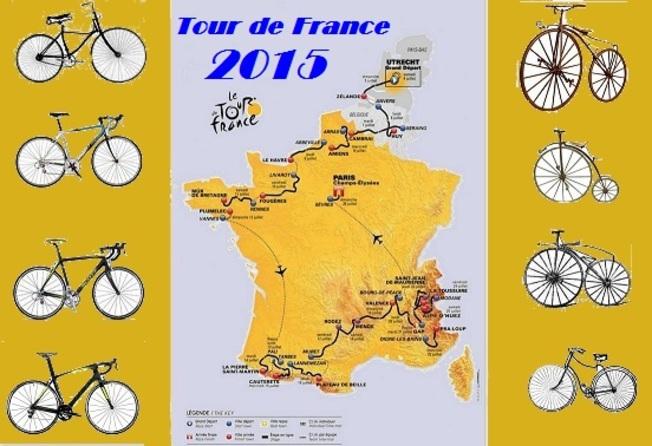 Tour de France 2015: Samedi 4 Juillet, Le grand Départ d'Utrecht (Hollande) , une grande ville ou le vélo est roi........