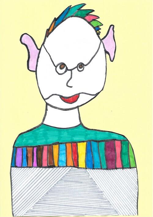 Arts visuels : vos visages d'une seule ligne !