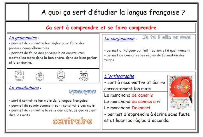Premières leçons en maths et en étude de la langue