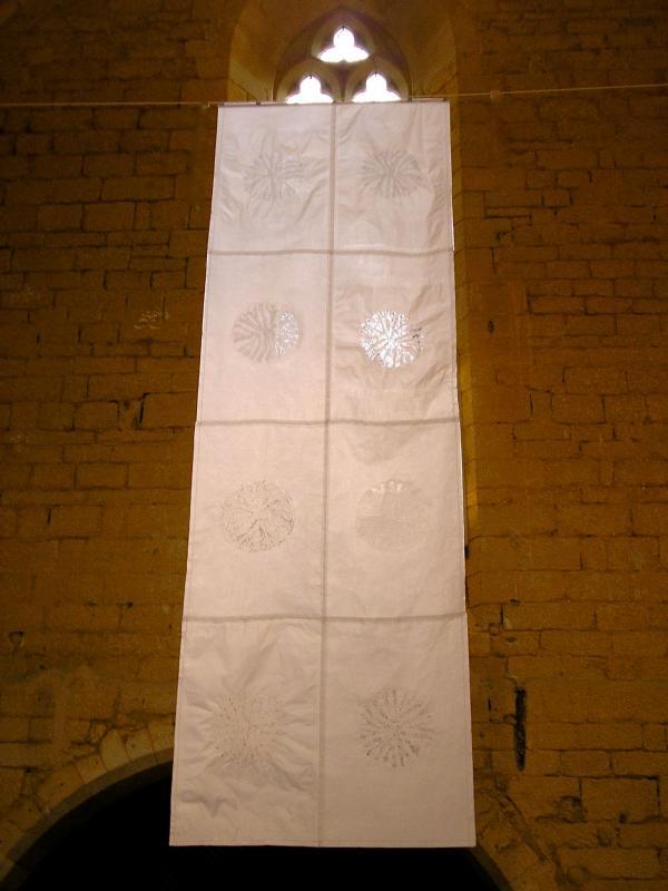 alvéoles-papier soie-graines-véronique grandjacques-2012