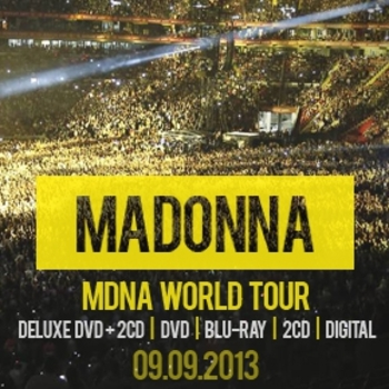 MDNA World Tour Facebook profile picture