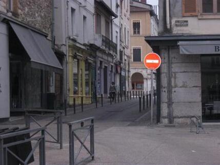 Un centre-ville difficile d'accès pour les cyclistes