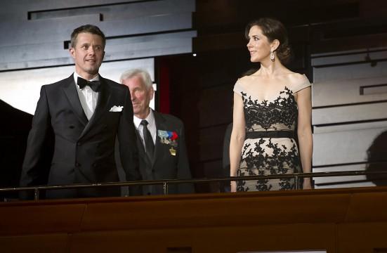 Frederik et Mary à l'opéra