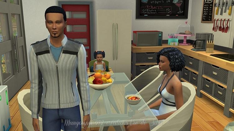 La Résidence des Dockers sans CC, #Sims4