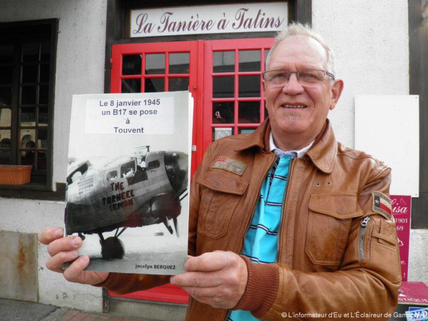 Le 8 janvier 1945 un B 17 se pose à Touvent