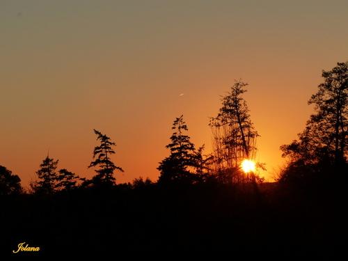Sunset chez moi !