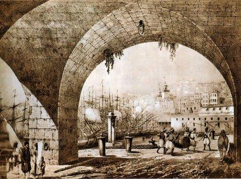 alger3-dessin-vuedelaMarine-1830