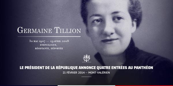 Hommage à Germaine Tillion :  le courage et le sens de l'honneur