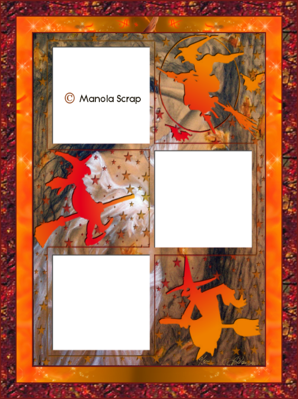 Cadres masques d' Halloween page 2