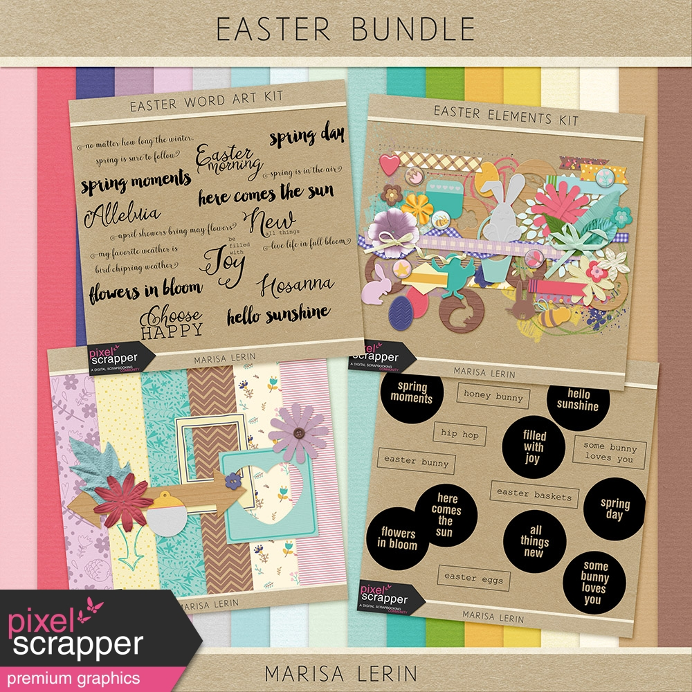 """Easter Bundle"" bundle by Marisa Lerin"