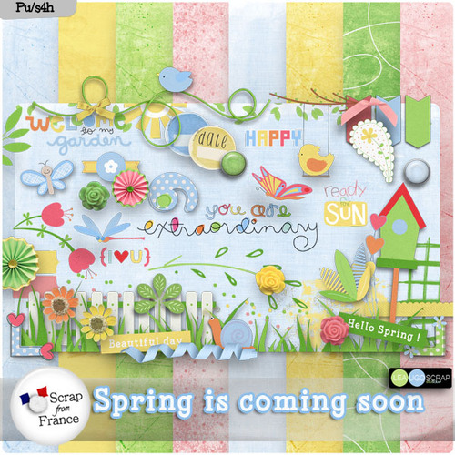 "LEAUGOSCRAP : ""Spring is coming soon"""